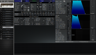 Click to display the Roland JV-80 Patch (Part 7) Editor
