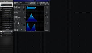 Click to display the Roland JV-880 Drums (Perm) Editor