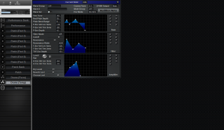 Click to display the Roland JV-880 Drums (Temp) Editor