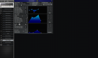 Click to display the Roland JV-90 Drums (Temp) Editor