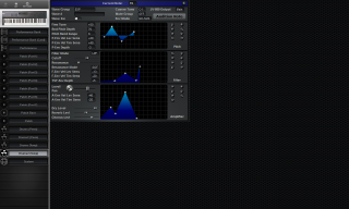 Click to display the Roland JV-90 Drums 2 (Temp) Editor