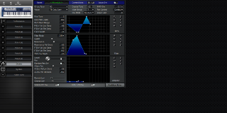 Click to display the Roland JX-305 Drums Editor