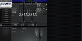 Click to display the Roland JX-305 Performance Editor