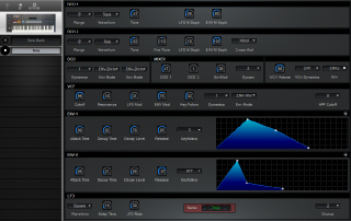 Click to display the Roland JX-8P Tone Editor