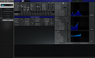 Click to display the Roland M-DC1 Dance Patch Editor