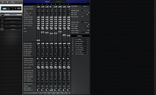 Click to display the Roland M-VS1 Vintage Synth Performance Editor