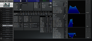 Click to display the Roland MC-307 Patch (7) Editor