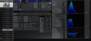 Click to display the Roland MC-307 Patch (9) Editor