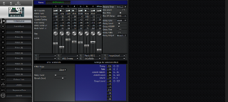 Click to display the Roland MC-307 Performance Editor