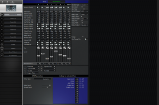 Click to display the Roland MC-505 Performance Editor