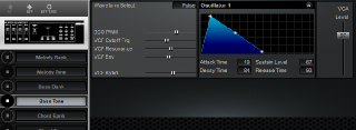 Click to display the Roland MKS-7 Bass Tone Editor