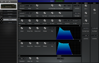 Click to display the Roland MKS-70 Tone A Editor