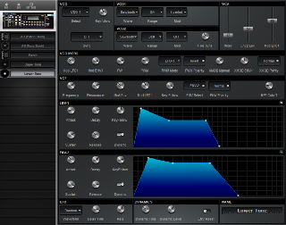 Click to display the Roland MKS-80 Lower Tone Editor