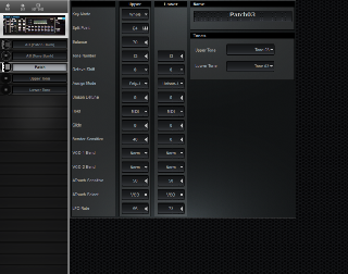 Click to display the Roland MKS-80 Patch Editor