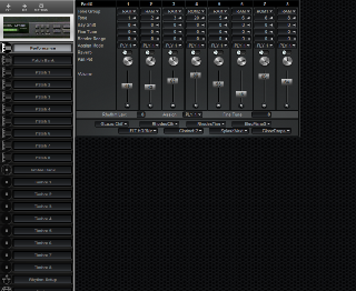 Click to display the Roland MT-100 Performance Editor
