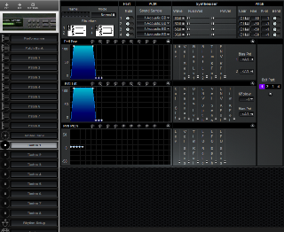 Click to display the Roland MT-100 Timbre 1 Editor