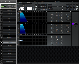 Click to display the Roland MT-100 Timbre 2 Editor