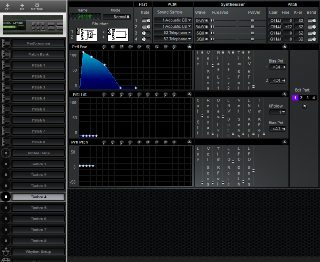 Click to display the Roland MT-100 Timbre 4 Editor
