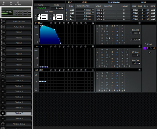 Click to display the Roland MT-100 Timbre 7 Editor