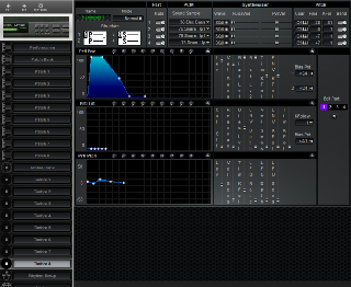 Click to display the Roland MT-100 Timbre 8 Editor