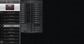 Click to display the Roland R-8 MkII Assign Editor