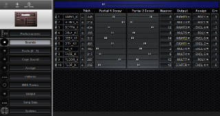 Click to display the Roland R-8 MkII Sounds Editor