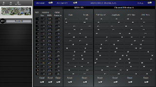 Click to display the Roland RAP-10 Patch All Editor