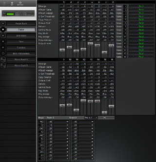 Click to display the Roland S-330 Patch Editor