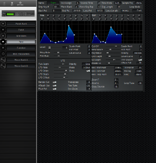 Click to display the Roland S-330 Tone Editor