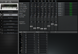 Click to display the Roland S-50 Patch Editor