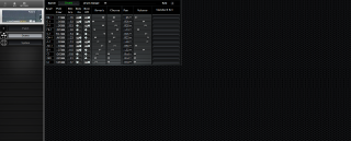 Click to display the Roland SC-55ST Drums Editor