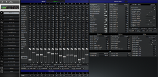 Click to display the Roland SC-880 Patch A Editor