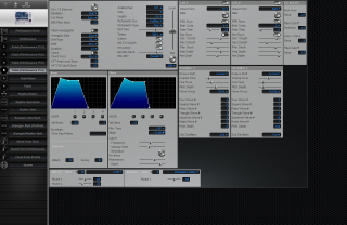 Click to display the Roland SH-32 Patch (Performance Pt 4) Editor
