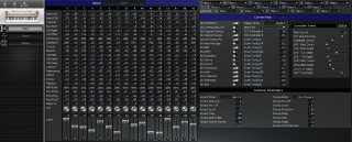Click to display the Roland SK-50 Patch Editor