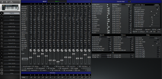 Click to display the Roland SK-88 Patch A Editor
