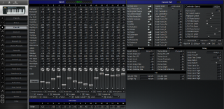 Click to display the Roland SK-88 Patch B Editor