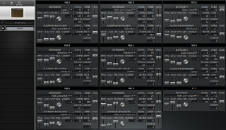 Click to display the Roland SPD-8 Patch Editor
