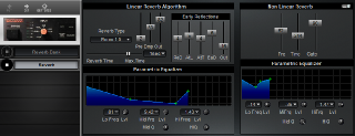 Click to display the Roland SRV-2000 Reverb Editor