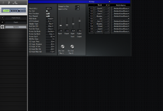 Click to display the Roland SRV-3030 System Editor