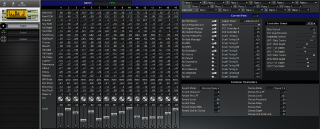 Click to display the Roland Sound Canvas Patch Editor