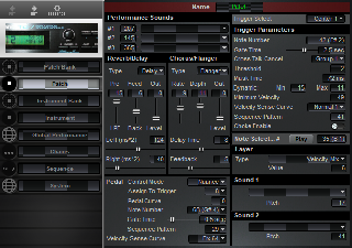 Click to display the Roland TD-7 Patch Editor