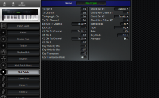 Click to display the Roland U-20 Kbd Patch Editor