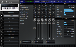 Click to display the Roland U-20 Patch Editor