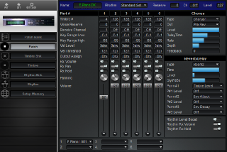 Click to display the Roland U-220 Patch Editor