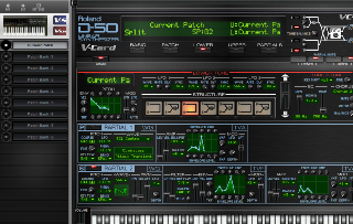 Click to display the Roland VC-1 Current Patch - Lower Mode Editor