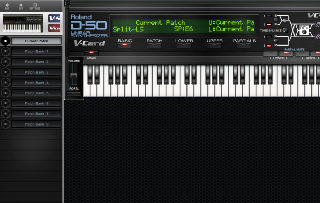 Click to display the Roland VC-1 Current Patch - Patch Mode Editor
