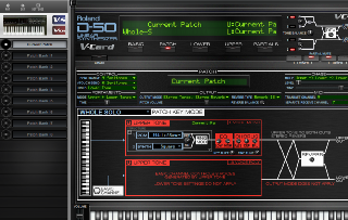 Click to display the Roland VC-1 Current Patch - Upper Mode Editor