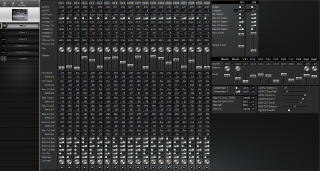 Click to display the Roland VM-3100 Pro Mixer Editor