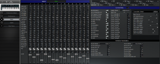 Click to display the Roland XP-10 Patch Editor