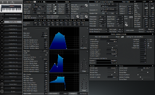 Click to display the Roland XP-30 Patch (Part 1) Editor